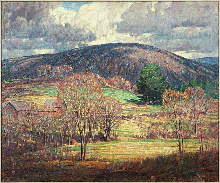 Dines Carlsen (American, 1901-1966) Connecticut