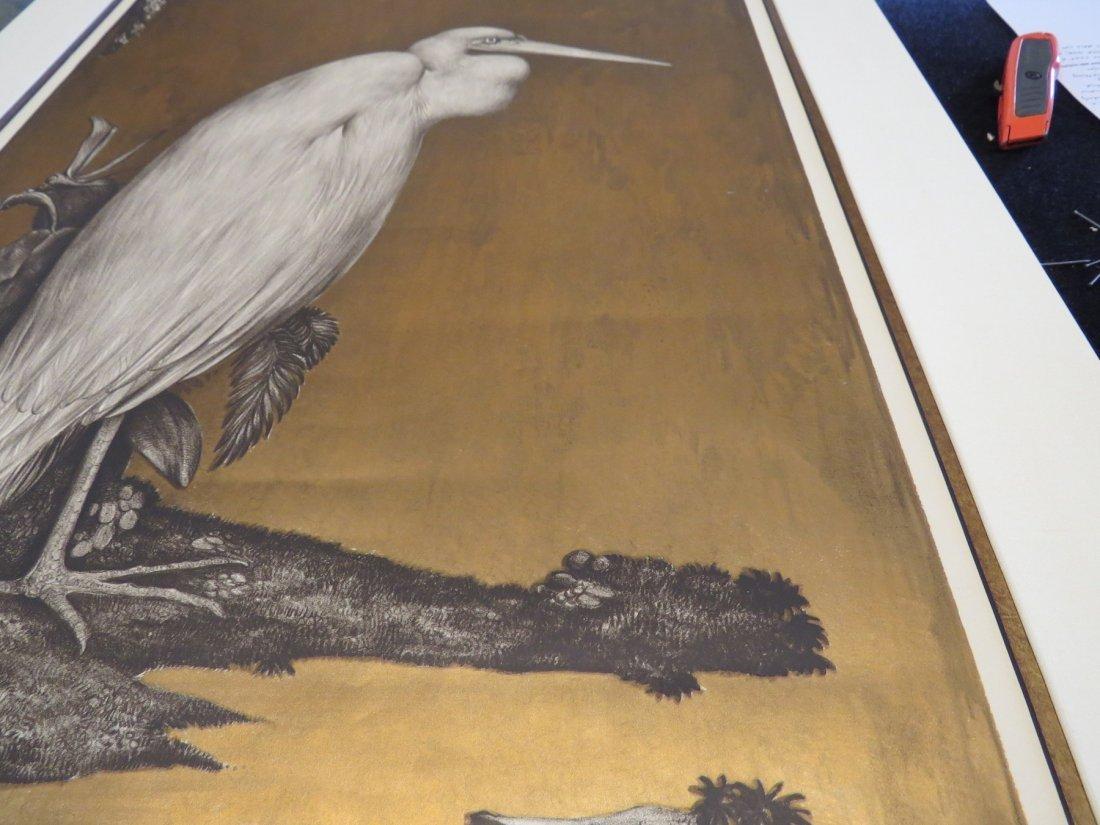 Willem Van Den Berg (Dutch, 1886-1970) Heron. - 2