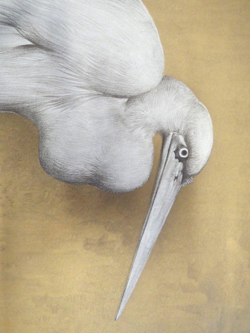 Willem Van Den Berg (Dutch, 1886-1970) Heron. - 8