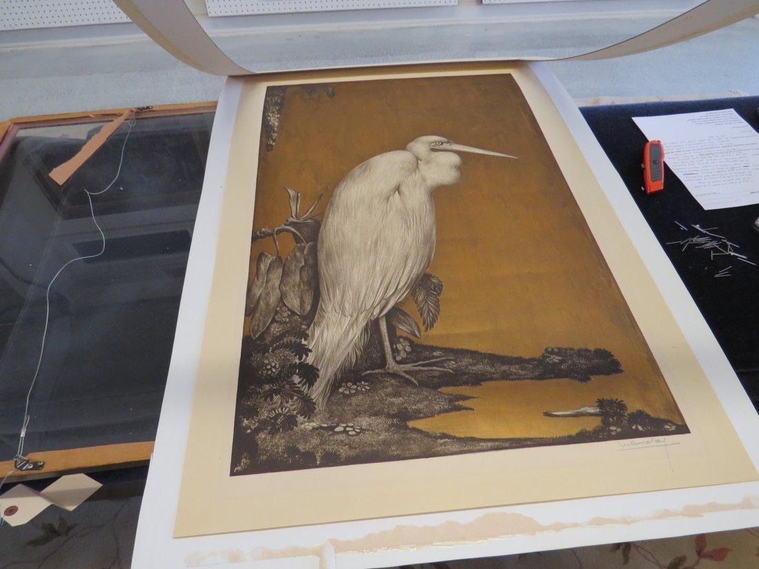 Willem Van Den Berg (Dutch, 1886-1970) Heron. - 9