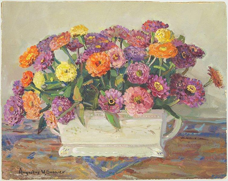 Augustus W. Dunbier (1888-1977) Summer's Afternoon.