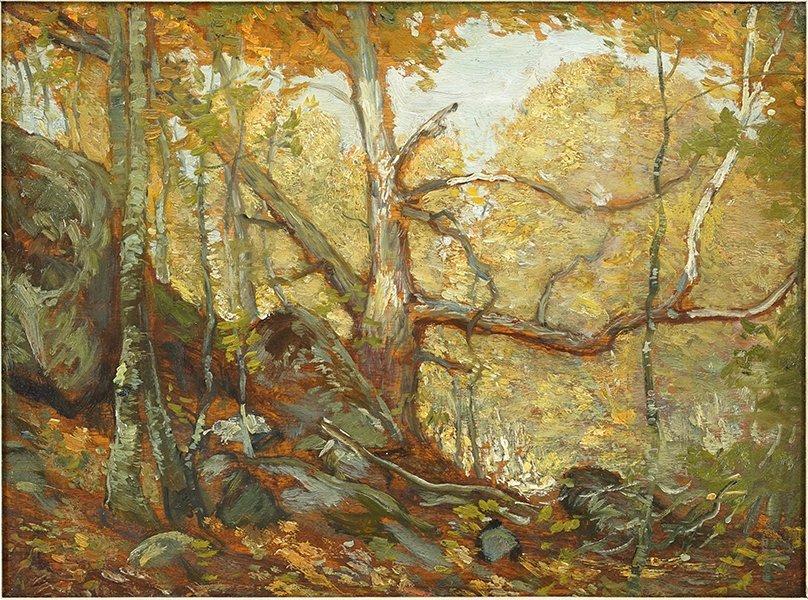 Henry Ward Ranger (American, 1858-1916) Autumn.