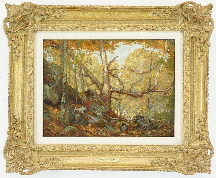 Henry Ward Ranger (American, 1858-1916) Autumn. - 2