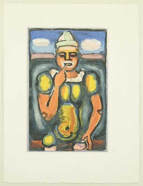 Georges Rouault (French, 1871-1958) Le Rencheri.