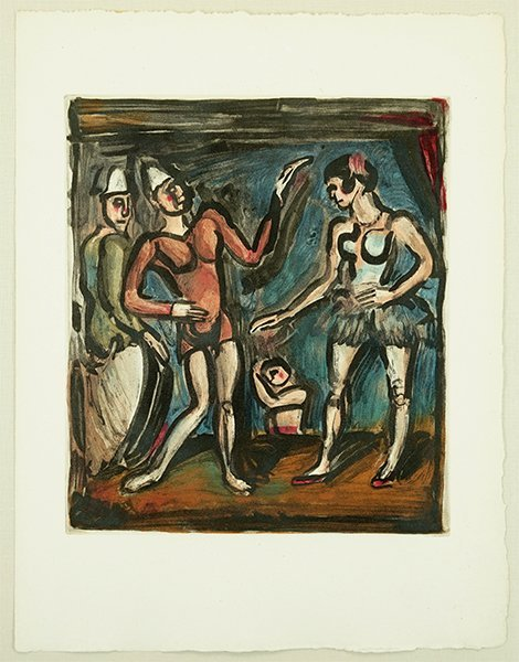 Georges Rouault (French, 1871-1958) Parade.