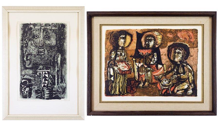 Antoni Clave (Spanish, 1913-2005) Les Trois Maries. - 2