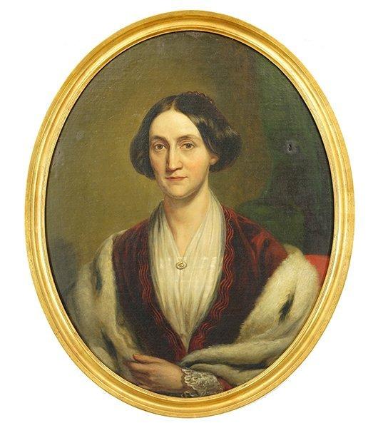 Artist Unknown (American, 19th Century) Portrait of