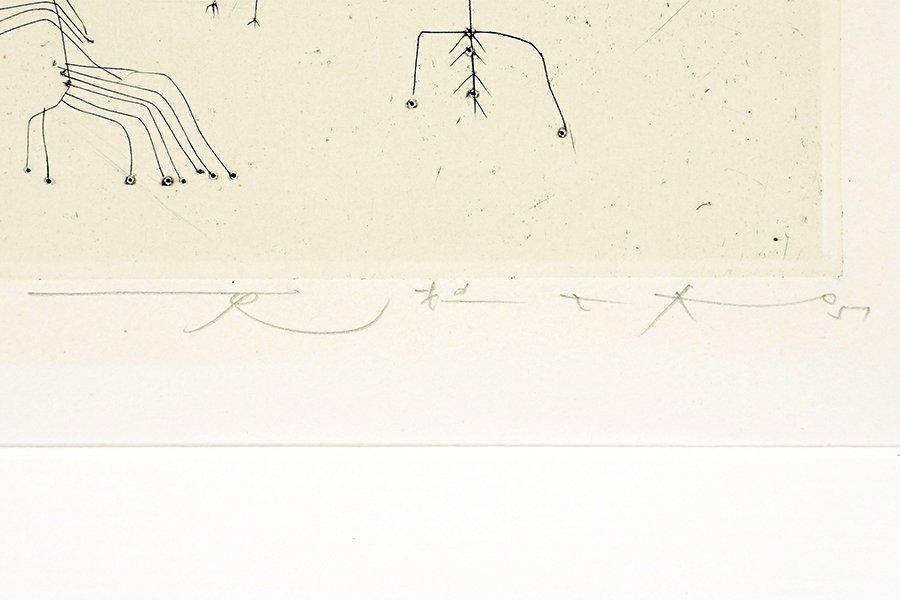 Zao Wou-Ki (Chinese/French, 1921-2013) Arbrisseaux. - 2