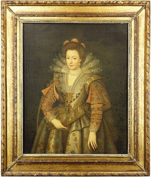 British School (17th Century) Portrait of a Noblewoman. - 2