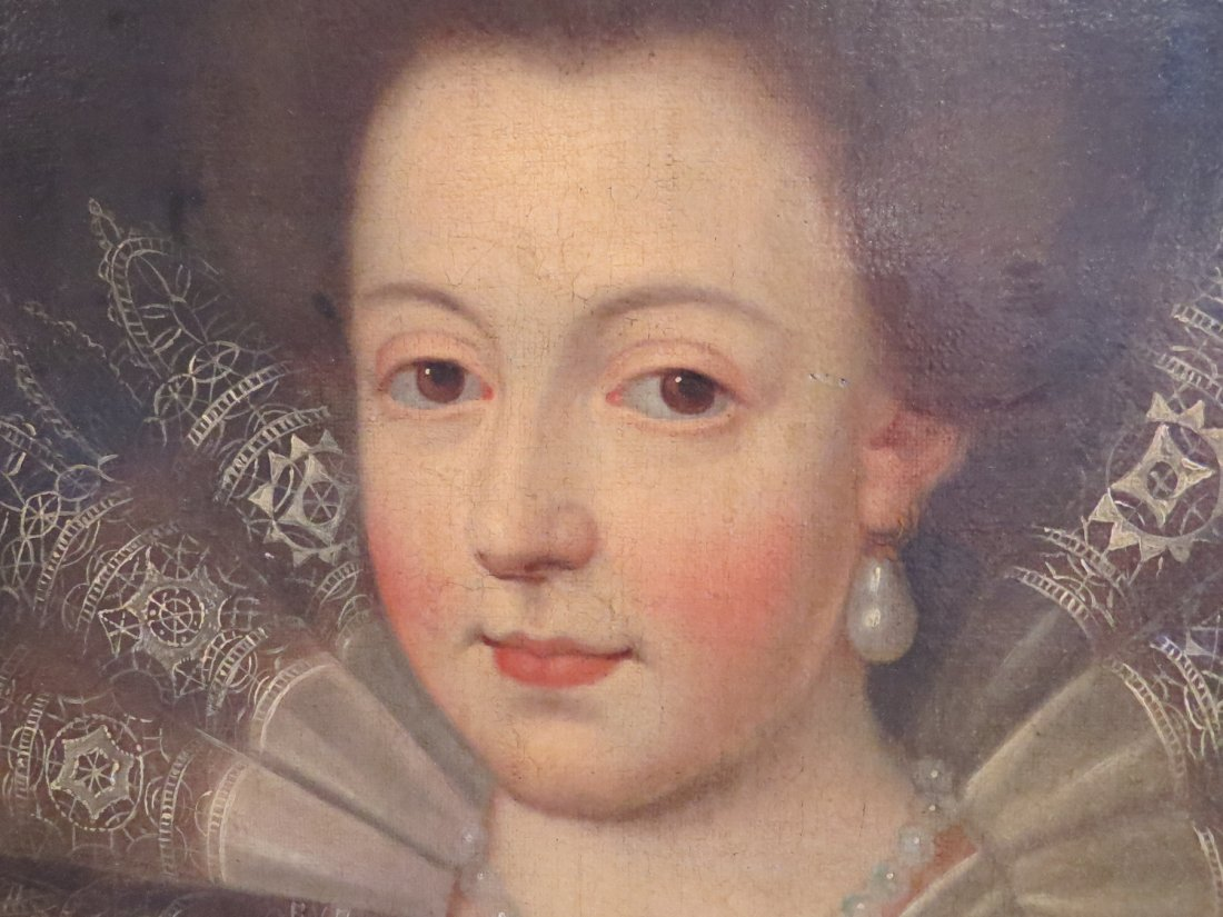 British School (17th Century) Portrait of a Noblewoman. - 3