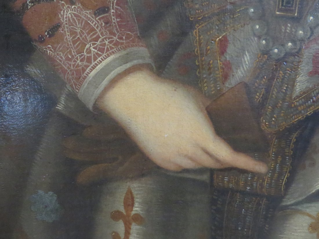 British School (17th Century) Portrait of a Noblewoman. - 6