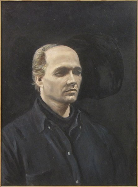 Chuck Walker (20th Century) Self Portrait, 1987.