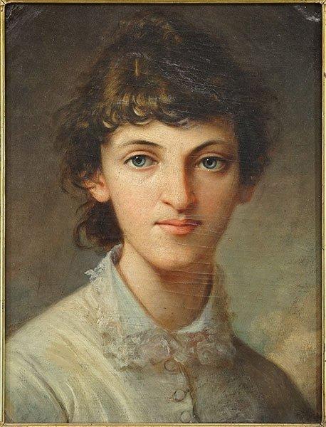 Artist Unknown (British, 19th Century) Portrait of a