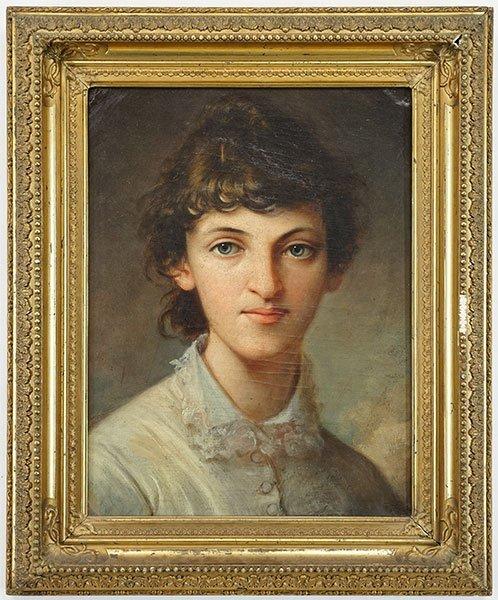 Artist Unknown (British, 19th Century) Portrait of a - 3