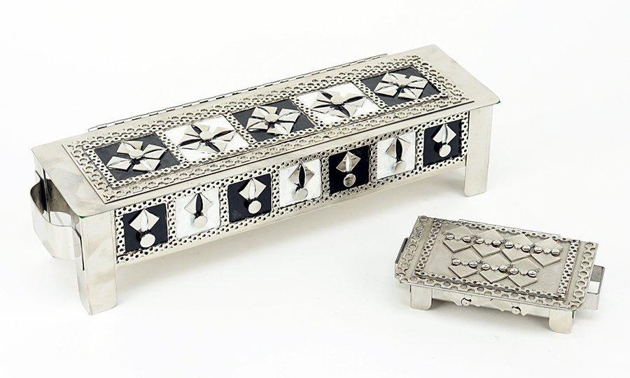 Stanley Szwarc (American, B. 1929) Two Boxes.