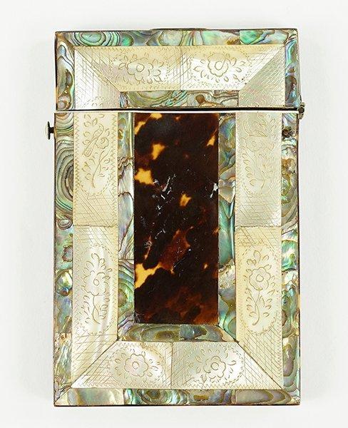 A Victorian Card Case.