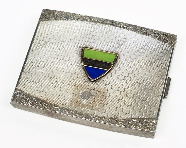 A Sterling Silver Cigarette Case.