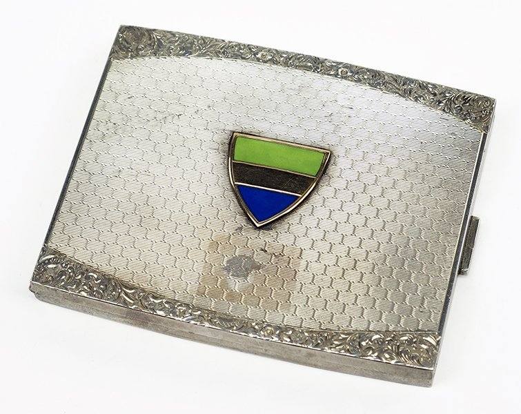 A Sterling Silver Cigarette Case.