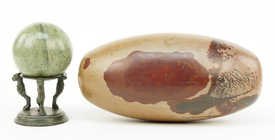 A Jasper Sphere Specimen.