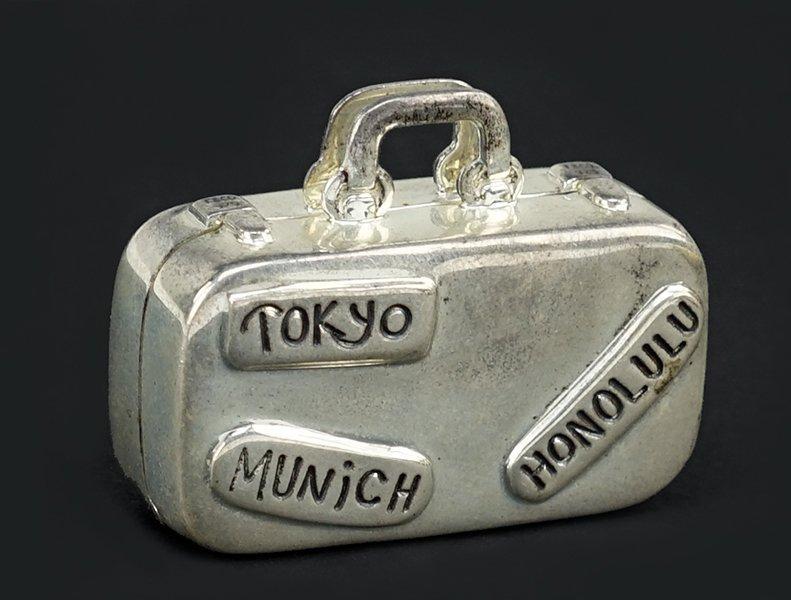 A Tiffany & Company Sterling Silver Pill Box.