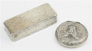 A French Silver Snuff Box