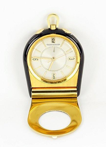 A Jaeger LeCoultre Travel Alarm Clock. - 2