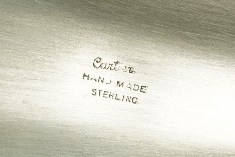 A Cartier Sterling Silver Basket. - 2