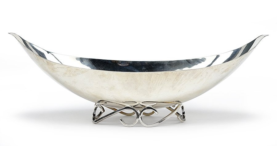 A 20th Century American Sterling SIlver Footed Bowl.