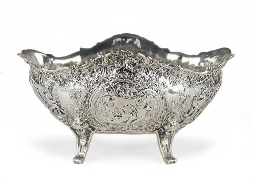 A 19th Century English Footed Bowl.