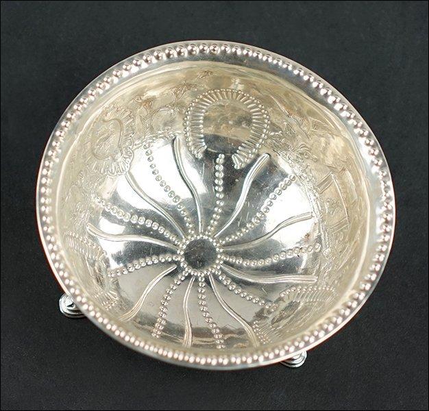 An Irish Silver Bowl. - 2