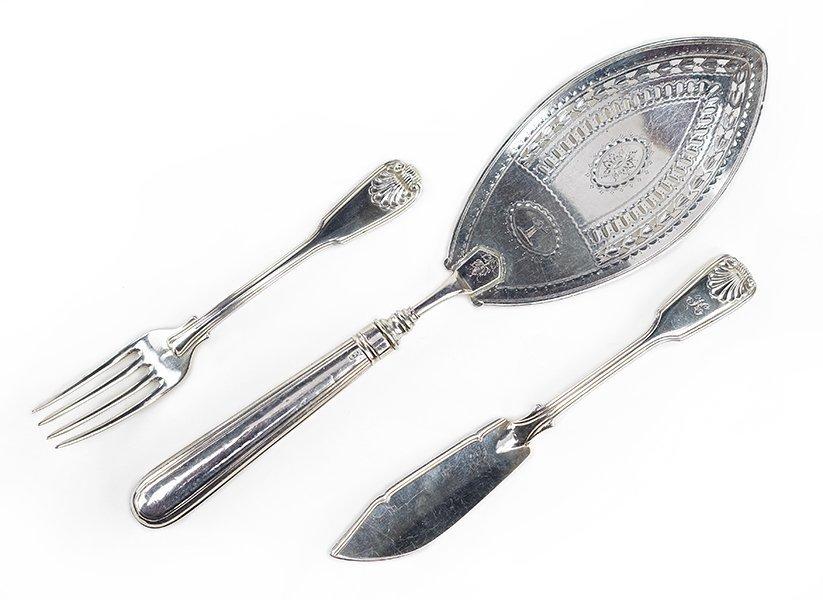 A George III Silver Fish Fork.