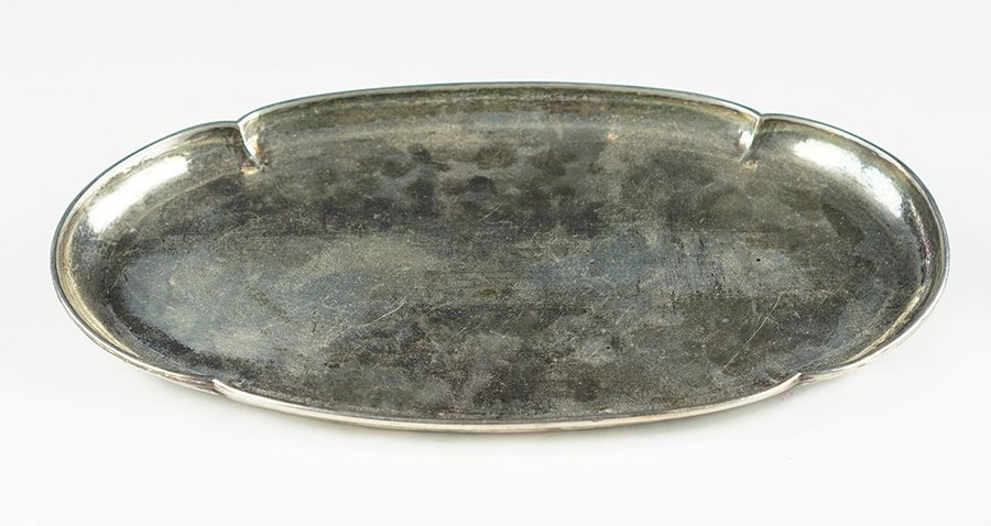A Kalo Handwrought Oblong Tray.