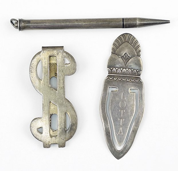 A Whiting Sterling SIlver Bookmark.
