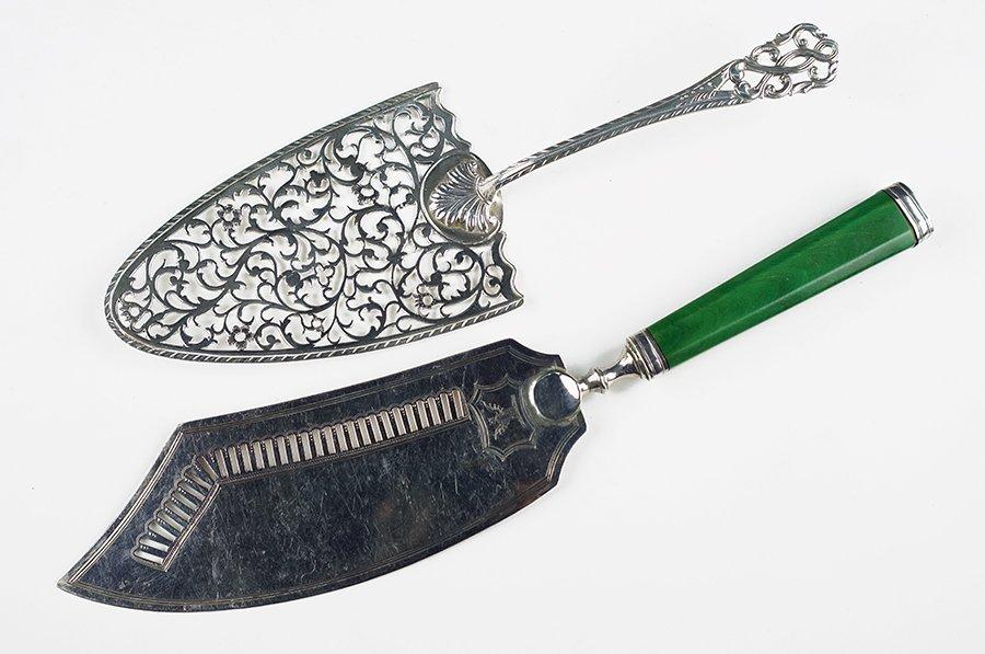 A George III Silver Fish Slice.