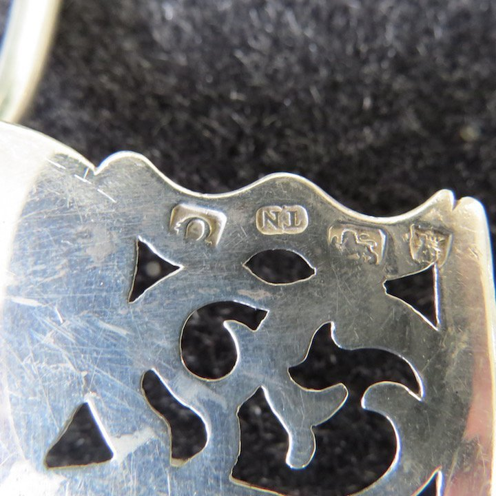 A George III Silver Fish Slice. - 3