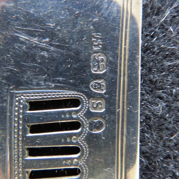 A George III Silver Fish Slice. - 6