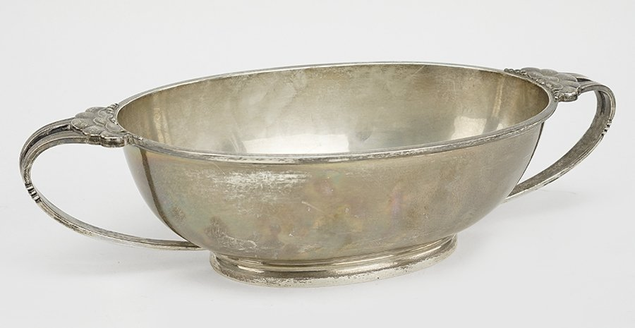 A Randahl Double Handled Sterling Silver Bowl.