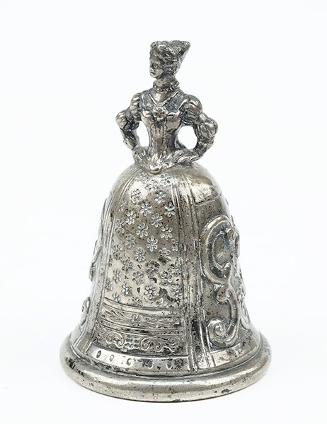 A German Silver Wedding / Wager Bell.