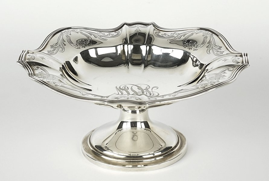A Gorham Sterling Silver Compote.