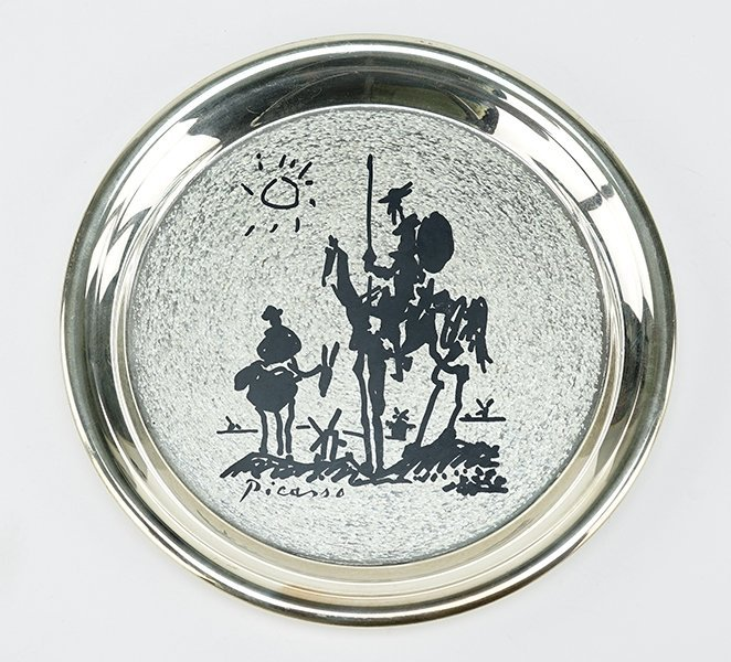 A 1972 Wahington Mint Sterling Silver Plate.