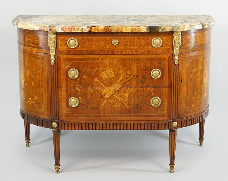 A French Marble Top Commode.