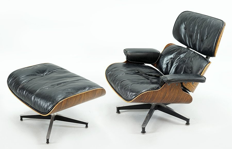 A Charles and Ray Eames for Herman Miller Lounge Chair
