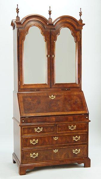 A Henredon Mahogany Secretary Bookcase.