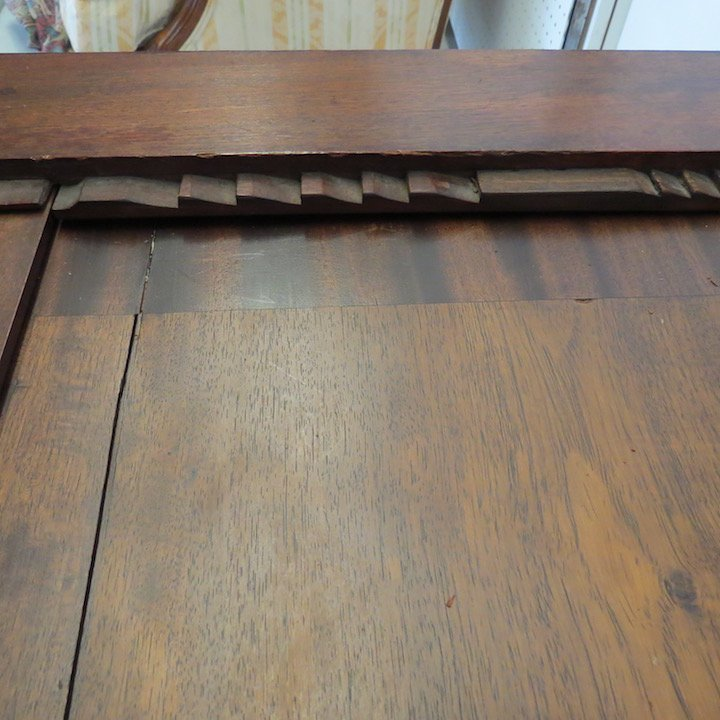An English Mahogany Drafting Table. - 8