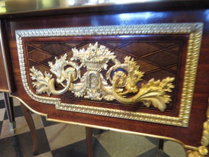 A French Ormolu Mounted Bureau Plat. - 2