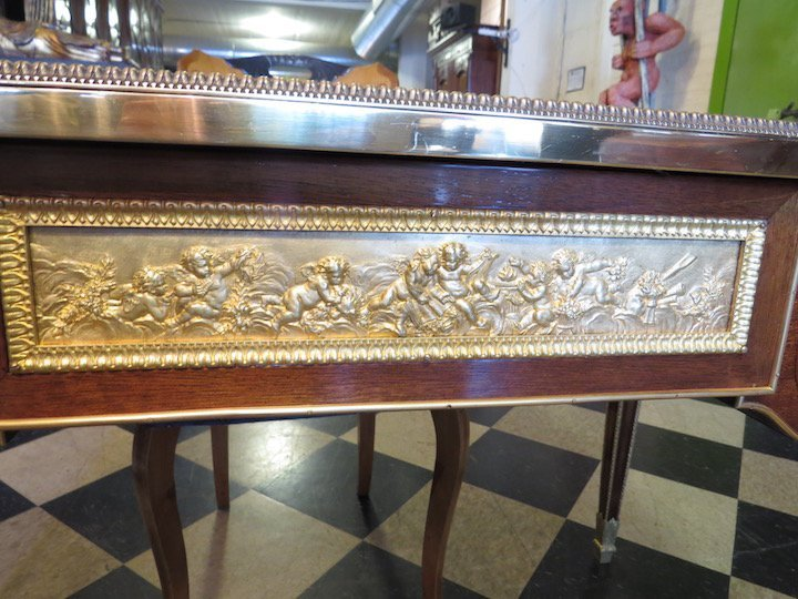 A French Ormolu Mounted Bureau Plat. - 3