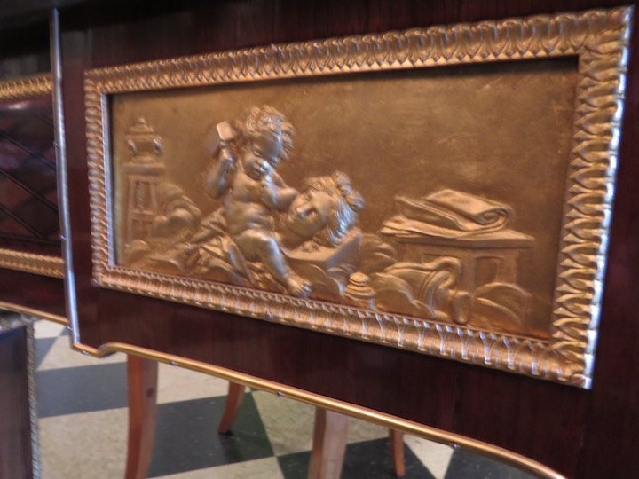 A French Ormolu Mounted Bureau Plat. - 4