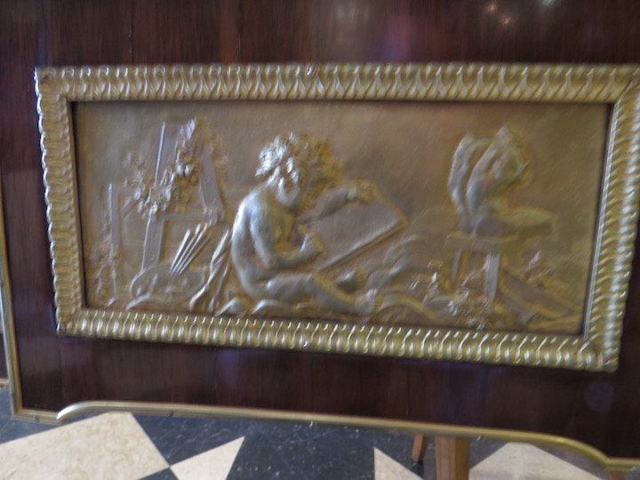 A French Ormolu Mounted Bureau Plat. - 5