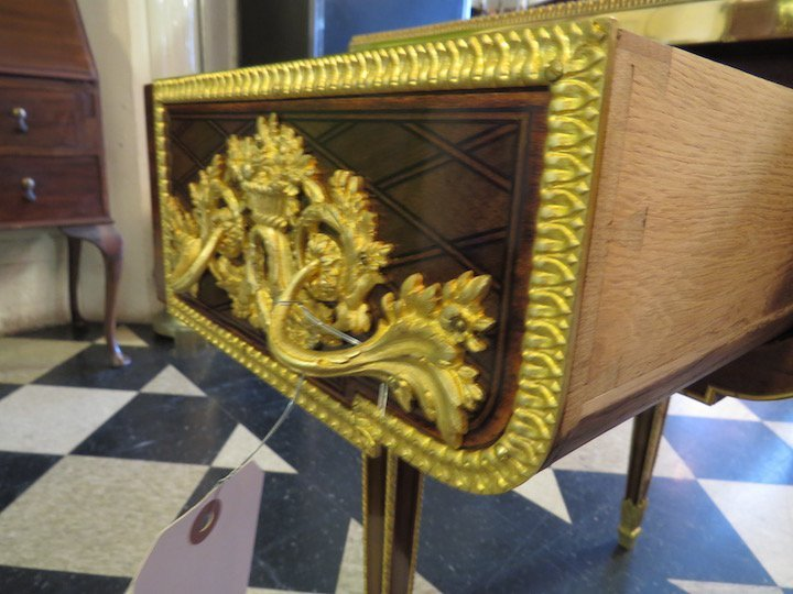 A French Ormolu Mounted Bureau Plat. - 6