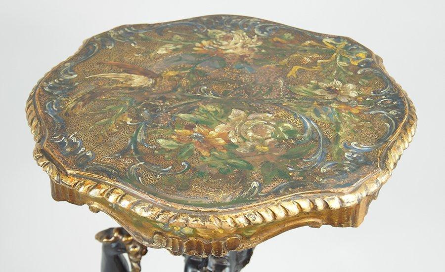 A Venetian Blackamoor Table. - 2